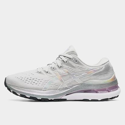 Asics Kayano 28 Platinum Ladies Running Shoes