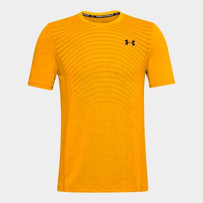 Under Armour Armour Seamless Wave Short Sleeve T Shirt Mens