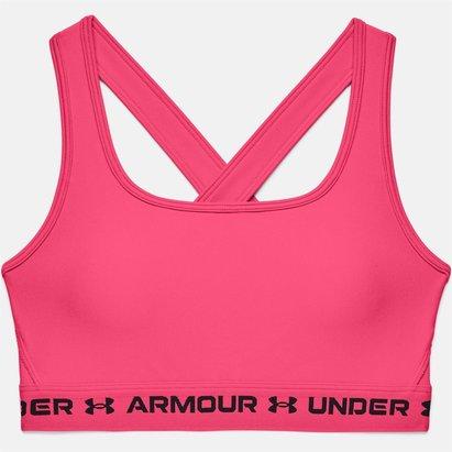 Under Armour Mid Crossback Bra Ladies