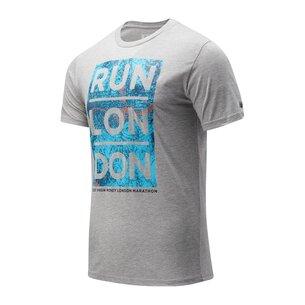 New Balance Virgin London Marathon Map T-Shirt Mens