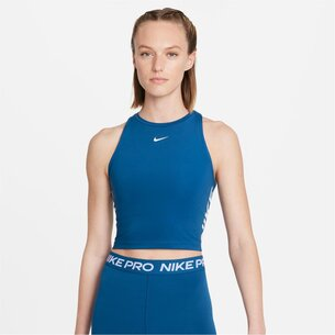 Nike Pro Dri FIT Womens Cropped Graphic Tank
