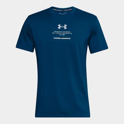 Under Armour Armour Originators T Shirt Mens