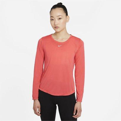 Nike Dri FIT One Long Sleeve Top Womens