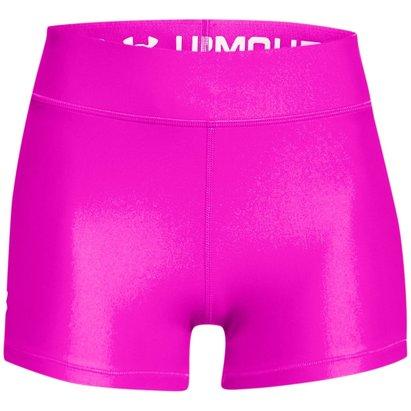 Under Armour HeatGear Mid Shorty Shorts Womens