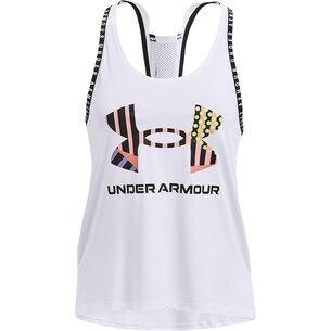 Under Armour Geo Knockout Vest Womens