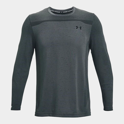 Under Armour Armour Seamless Long Sleeve T Shirt Mens