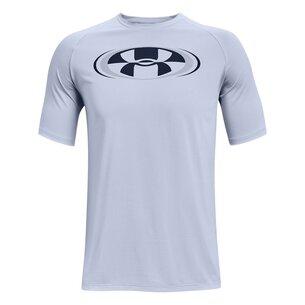 Under Armour Tech 2.0 Circle T Shirt Mens
