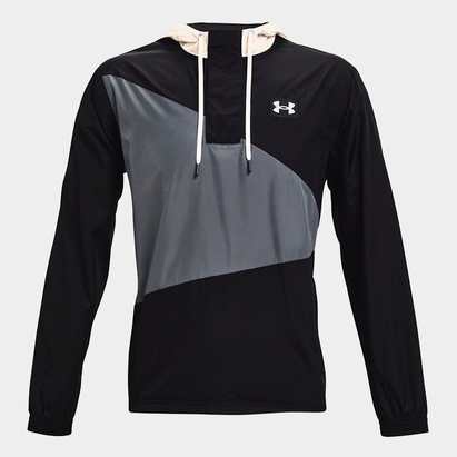 Under Armour Armour Woven Crest Hoodie Mens