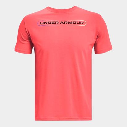 Under Armour Lockertag Short Sleeve T Shirt Mens