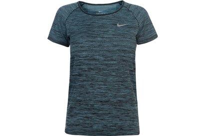 Nike Dri Fit Knitted T-Shirt Ladies