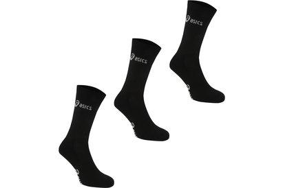 Asics 3 Pack Crew Socks