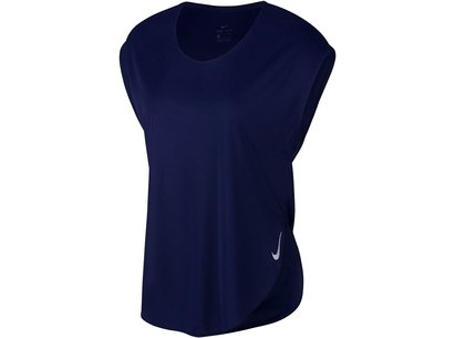 0d25a980969 Nike City Sleek Short Sleeve Running Top Ladies