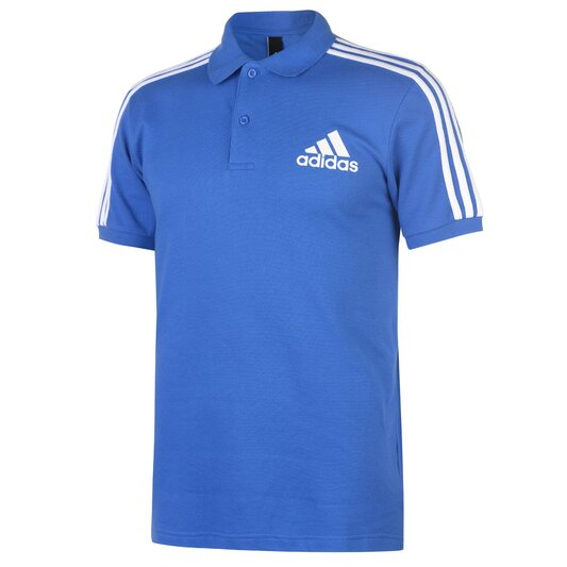 3 Stripes Logo Polo Shirt Mens