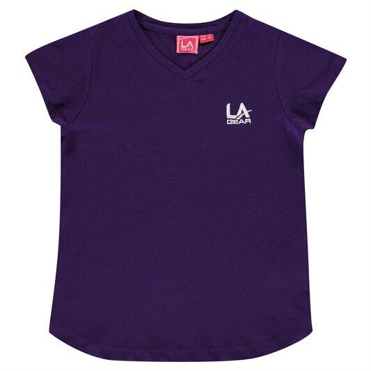 V Neck T Shirt Junior Girls