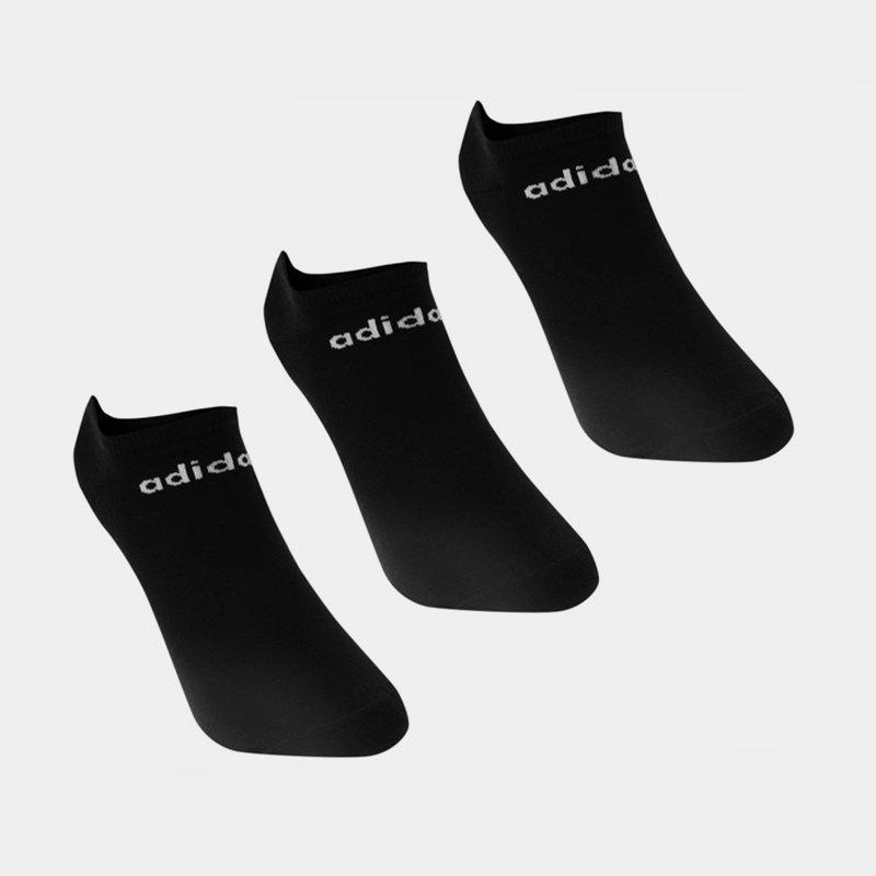 Low Cut 3 Pack No Show Socks