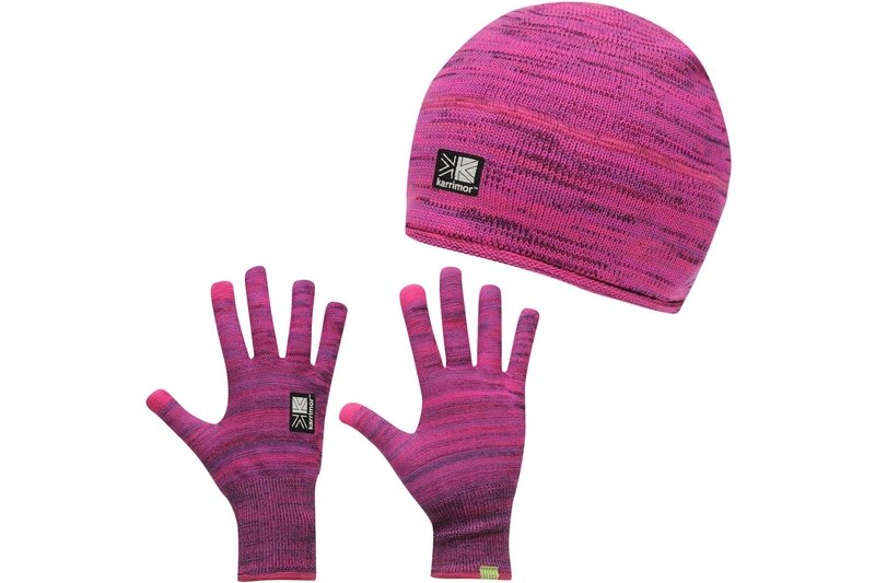 Hat and Glove Set Mens