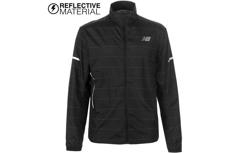 Reflective Packable Jacket Mens
