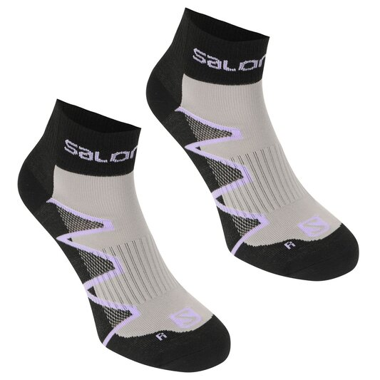 XA Pro 2 Pack Ladies Running Socks