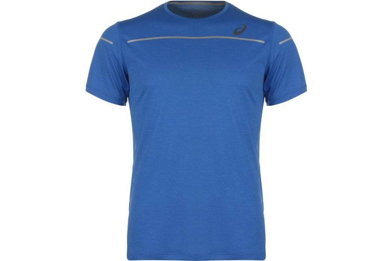 Lite Short Short Sleeve T-Shirt Mens Blue