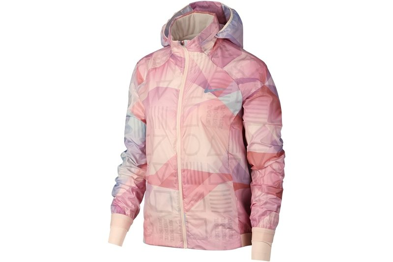 Shield Flash Running Jacket Ladies
