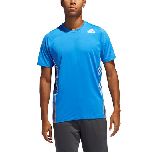 Mens Freelift Fleece 3 Stripes T Shirt