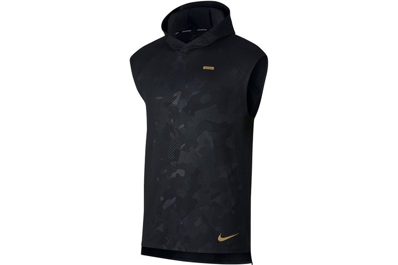 Element Sleeveless Running Hoodie Mens
