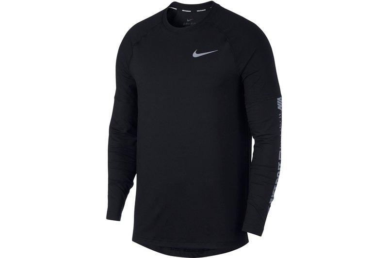 Element Long Sleeve Running T Shirt Mens