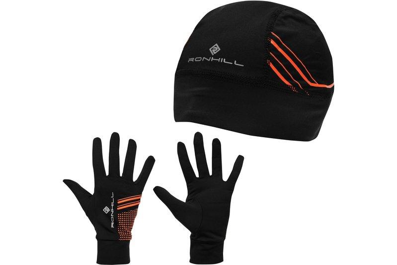 Beanie and Gloves Set Mens