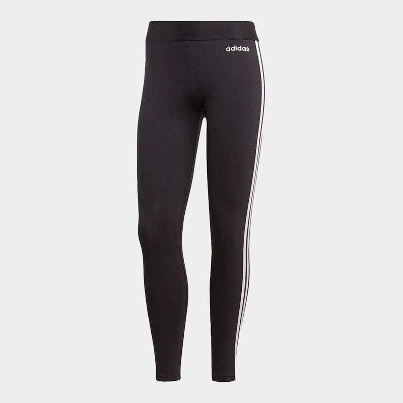 Essentials 3 Stripe Leggings Ladies