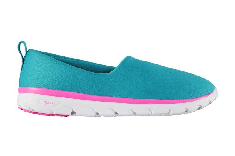 Iolite Slip On Girls Trainers