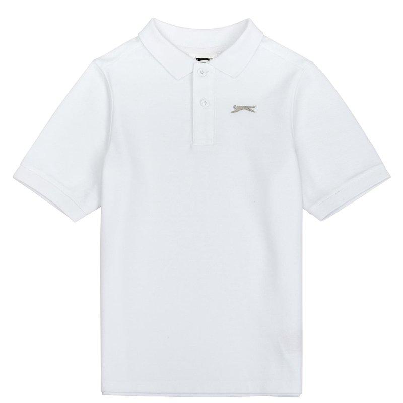 Plain Polo Shirt Junior Boys