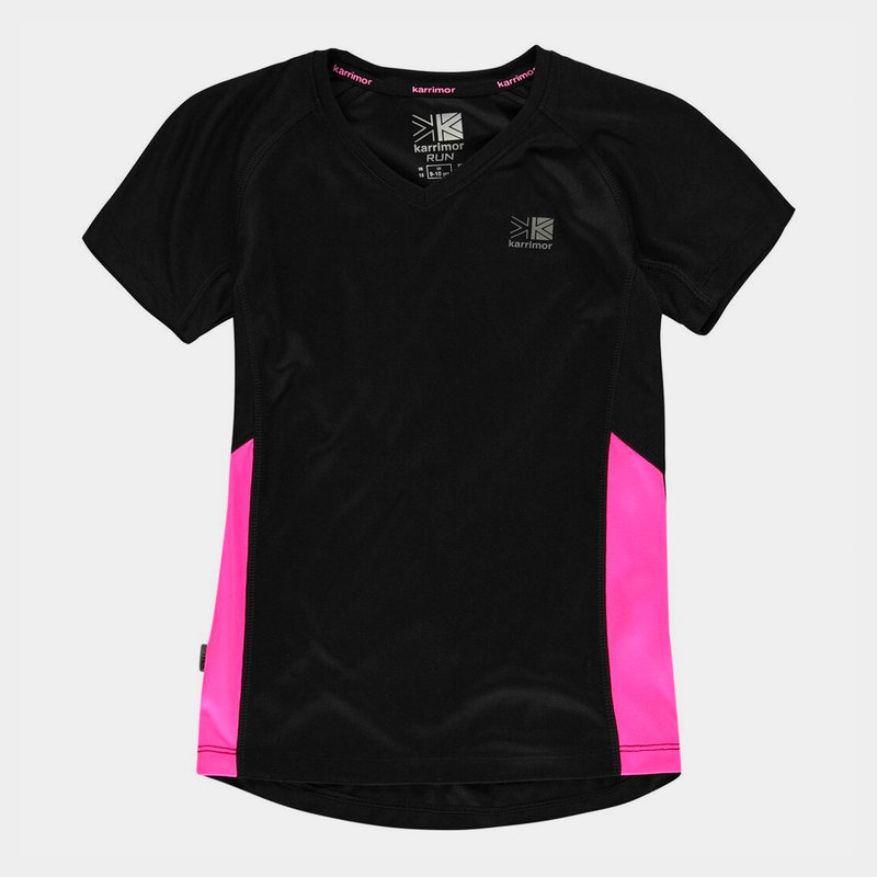 Short Sleeved Running Top Girls
