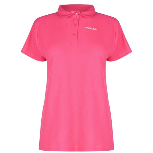 Pique Polo Shirt Ladies