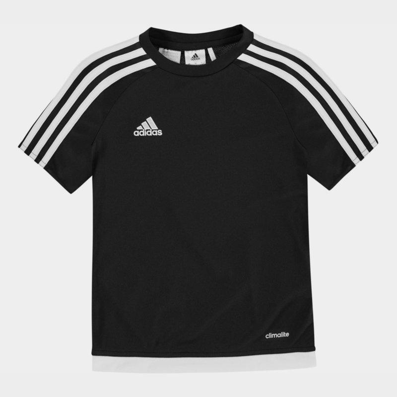 3 Stripe Sereno T-Shirt Junior Boys