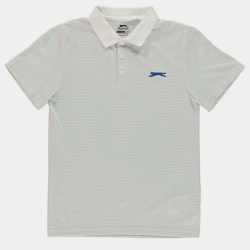 Micro Stripe Polo Shirt Junior Boys