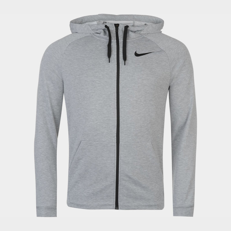 Dri FIT Mens Full Zip Training Hoodie