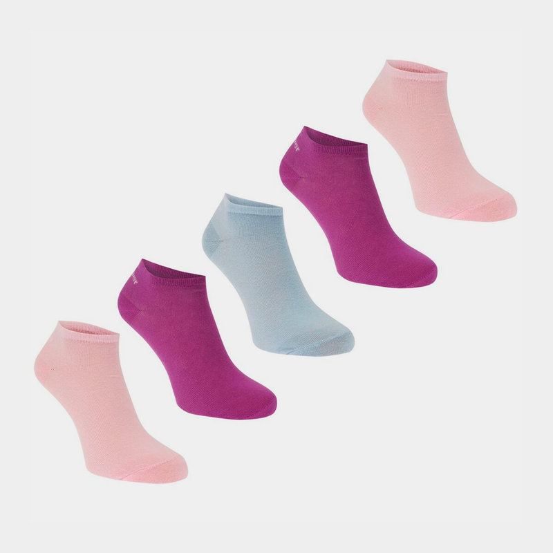 Trainer Socks 5 Pack Ladies