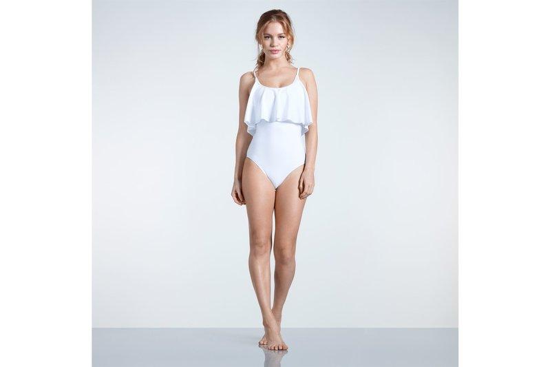 Frill Swimsuit Ladies