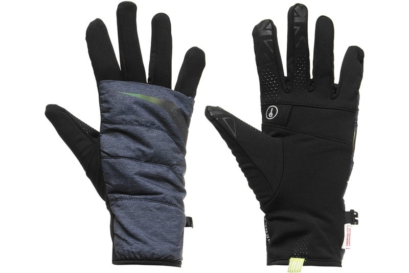 Quilted Running Gloves Ladies