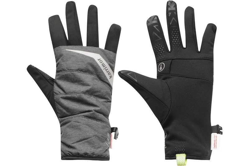 Quilted Running Gloves Mens