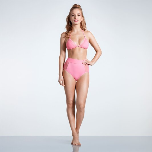 Triangle Mesh Bikini Briefs Ladies