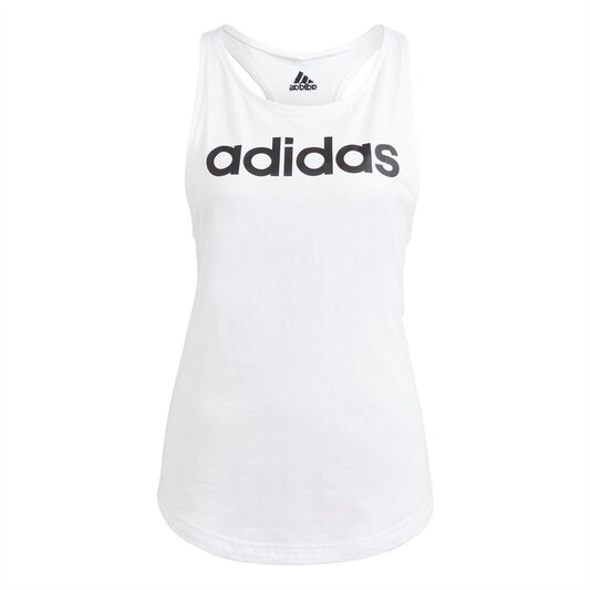 Womens Essentials Linear Loose Tank Top