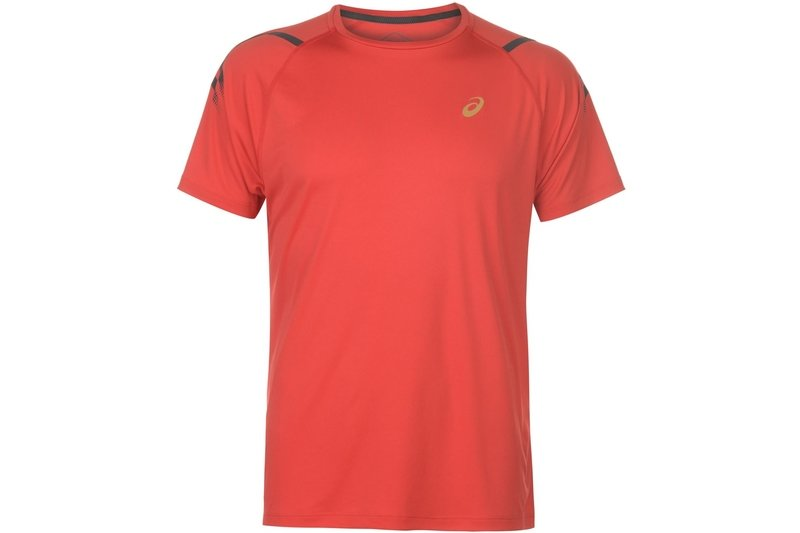 Icon Short Sleeve T-Shirt Mens Red