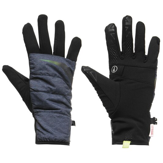 Quilted Running Gloves Womens