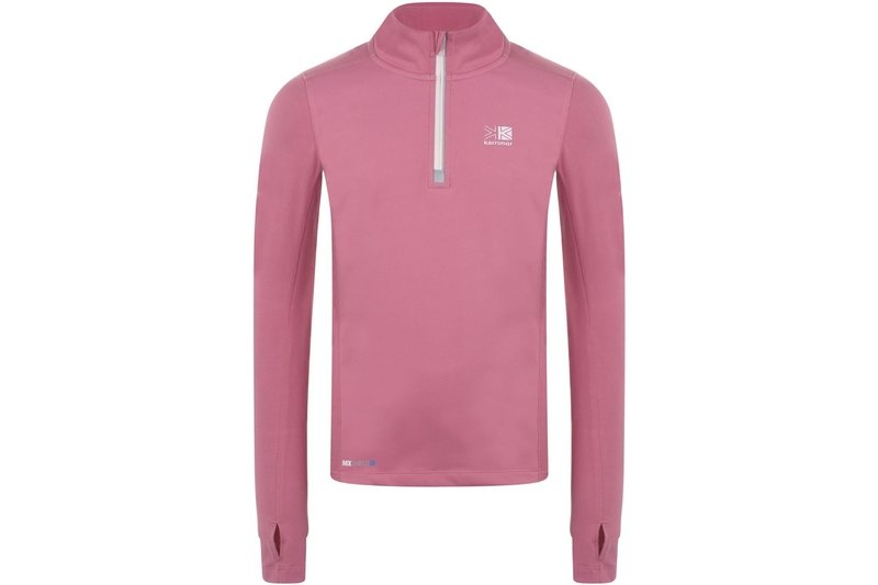 quarter  Zip Top Junior Girls