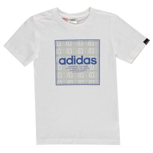 Box Linea Texture QT T Shirt Junior Boys