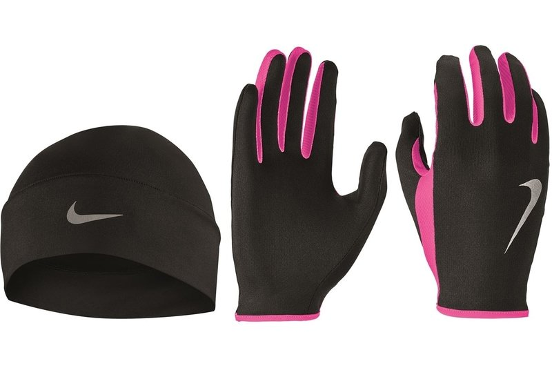Run Hat and Gloves Set Womens