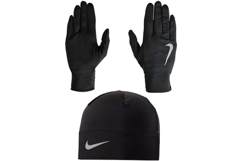 Run Hat and Gloves Set Mens