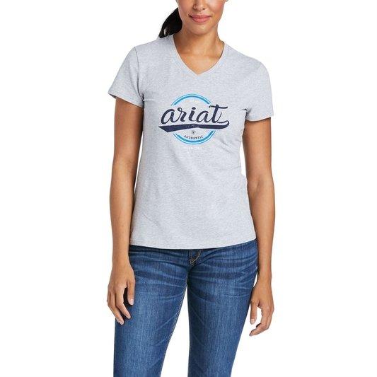 Authentic Logo Short Sleeve T-Shirt Ladies