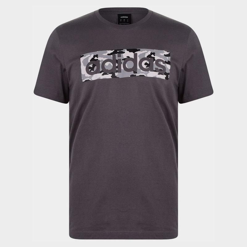 Linear Camo Mens T shirt